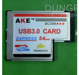 Express card 54mm to usb 3.0 v1