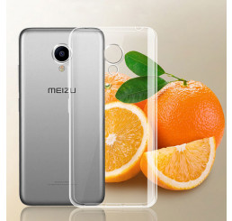 Ốp lưng Meizu M5 silicone trong suốt