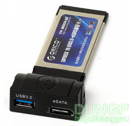 Orico Express 34mm to Usb3.0 + esata