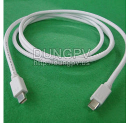 Cáp mini Displayport / Thunderbolt